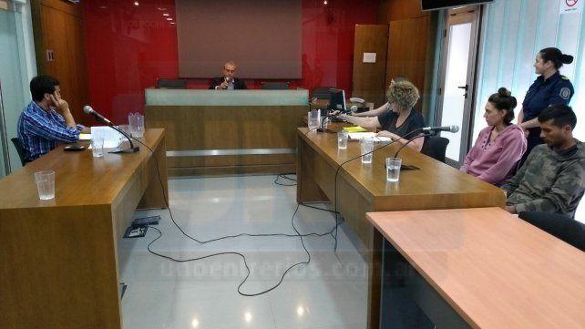 Fallo intermedio. El juez Mayer impuso 30 días de prisión preventiva en la UP 1 de Portillo. Foto: Juan Manuel Hernández.
