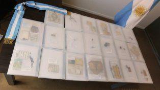 Los objetos hallados en los cuerpos de los soldados identificados de Malvinas serán entregados a sus familias