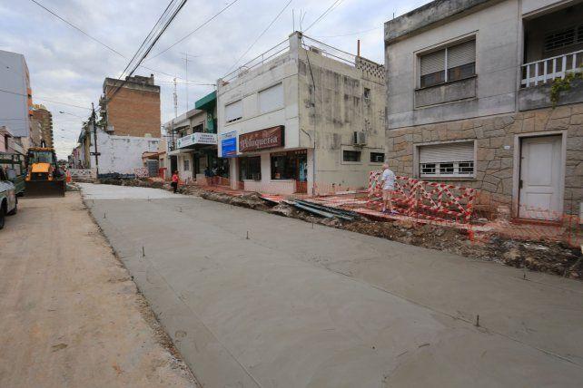 Calle Corrientes hoy. FotoUNODiego Arias.