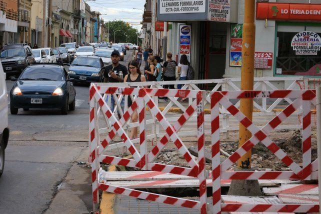 La esquina de La Paz y Corrientes. FotoUNODiego Arias.