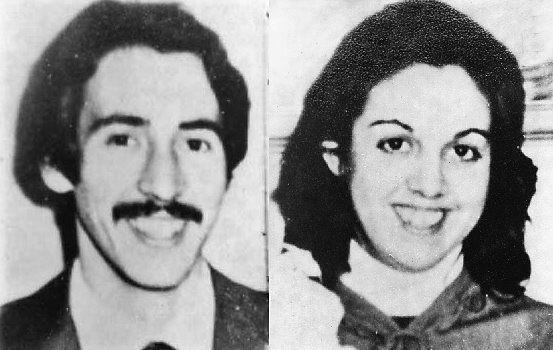 Edgardo y Violeta que cuando fue detenida gestaba un embarazo.