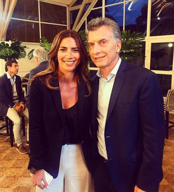 La diputada entrerriana y el presidente de los argentinos. Foto Twitter Yanina Gayol.