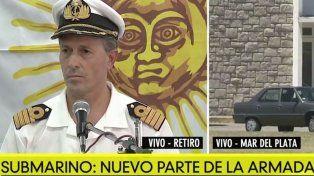 ARA San Juan: Estamos en sintonía con lo que comunicó Aguad, expresó Balbi
