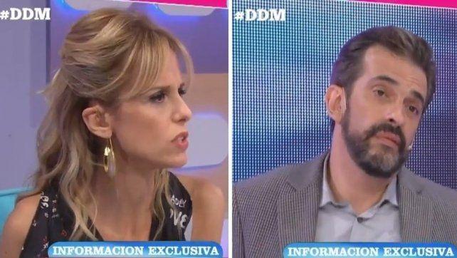 Mariana Fabbiani se cruzó al aire con Martín Ciccioli por un hecho de violencia