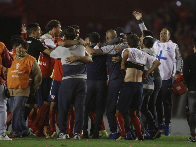 Fortaleza. Independiente ganó cuatro de los cinco encuentros que disputó en Avellaneda en la presente edición de la Copa Sudamericana.