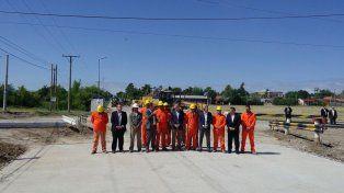 El presidente Macri visitó las obras del Plan Hábitat que se ejecutan en San Benito