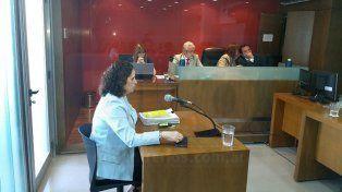 Honestidad intelectual. La fiscal no forzó la situación y pidió no condenar a los dos acusados. Foto: Javier Aragón.