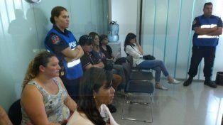 Desconsuelo. Los familiares de Ledesma no ocultaron su malestar por el proceso judicial. Foto: Javier Aragón