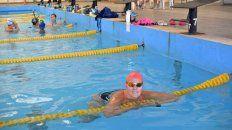 Orgullo. La nadadora volvió a la especialidad hace seis años para formar parte de las pruebas Master. Abogada de profesión y madre las 24 horas.