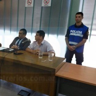 Comprometido. Medrano se declaró inocente en la parte final del juicio. Foto: Javier Aragón