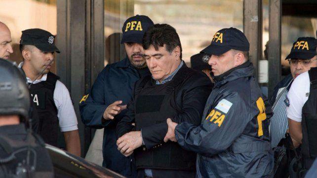 Zannini fue conducido esta mañana a la sede de los Tribunales Federales.