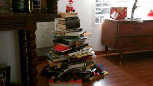 El arbolito de libros.