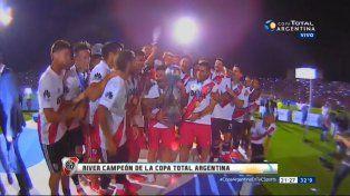 River es bicampeón de la Copa Argentina