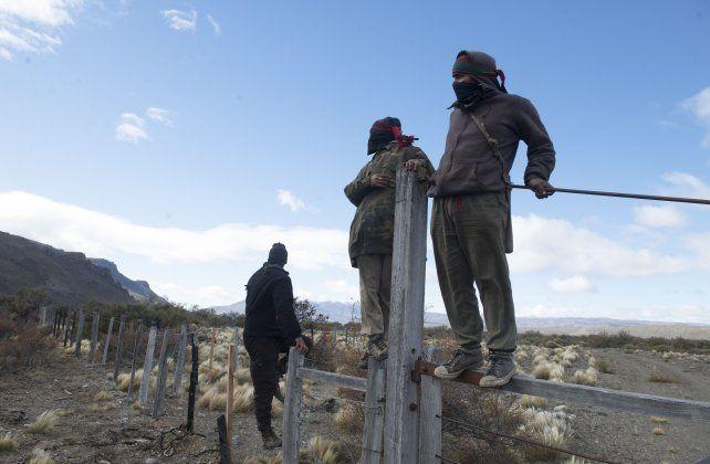 Mapuches. Desplazados reclaman
