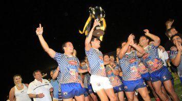 Agónico. Santa Fe le ganó a Entre Ríos en el final. Fue 15-14 para coronarse con la Copa de Plata.