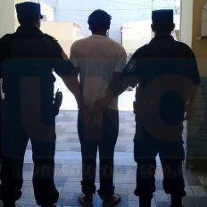 Imputados. Los dos hermanos y la novia de uno de ellos, están alojados en la Jefatura de Gualeguay.
