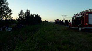 Colisionaron dos vehículos en ruta 14 y nueve personas debieron ser hospitalizadas