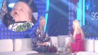 Marley presentó a su hijo Mirko en el programa de Susana Giménez