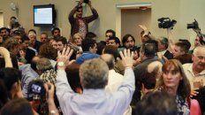 hubo tension en el congreso en medio del debate de la reforma previsional