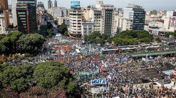 la cgt organiza una marcha al congreso contra la reforma previsional