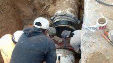 Tuberías. Realizan reparaciones a fin de devolver el servicio en los lugares afectados cuanto antes.