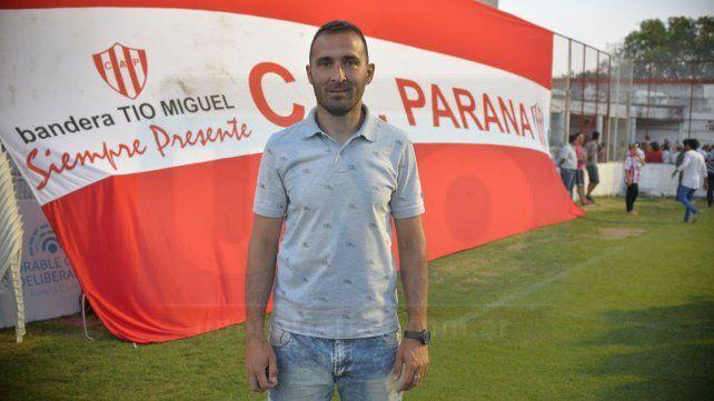 Conforme. Tincho finalizó satisfecho por el rendimiento del equipo en los últimos encuentros y destacó la entrega de sus dirigidos.