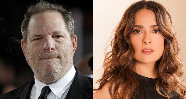 Salma Hayek acusó a Harvey Weinstein de obligarla a tener sexo con otra mujer en Frida