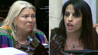 Carrió acusó a los diputados agredidos por Gendarmería de atropellar a la fuerza y estalló Donda