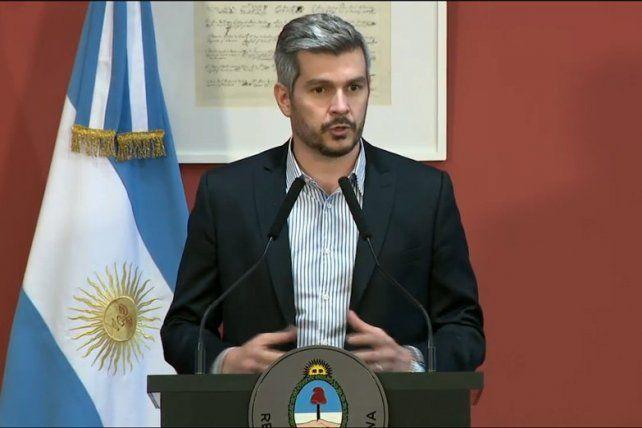 Peña anticipó que el Gobierno insistirá con el proyecto de reforma previsional en Diputados