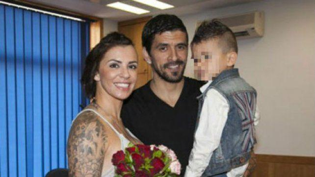 Lucho González intentó matarme, la dramática denuncia de la esposa del futbolista