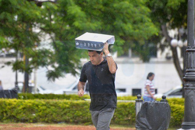 Anticipan que este será un finde de lluvias y tormentas en Entre Ríos
