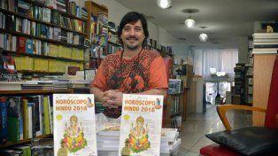 Deepak en la librería El Ateneo