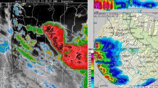 Tormentas fuertes se avecinan a la región
