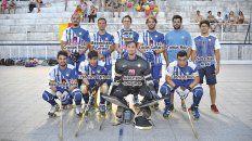 hockey sobre patines: rowing salio campeon en seniors de un torneo muy especial