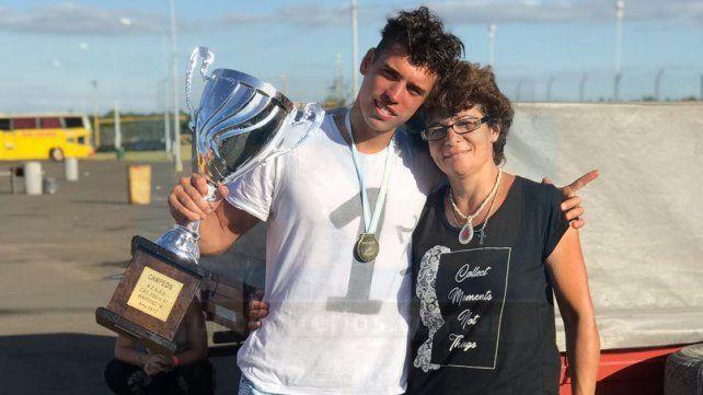 Karting volador: Tersich arrasó en Concordia y gritó campeón entrerriano