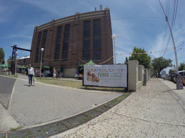 La Vieja Usina está ubicada en un lugar privilegiado del Parque Urquiza. FotoUNO