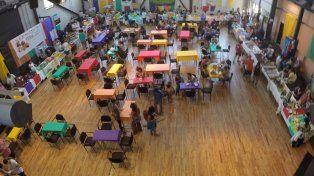 La sala el domingo antes del mediodía. Foto UNO.