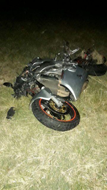 Motociclista sufrió amputación de pierna y graves lesiones en un accidente