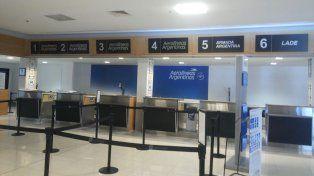 Cancelaron vuelos desde esta mañana como consecuencia del paro de la CGT