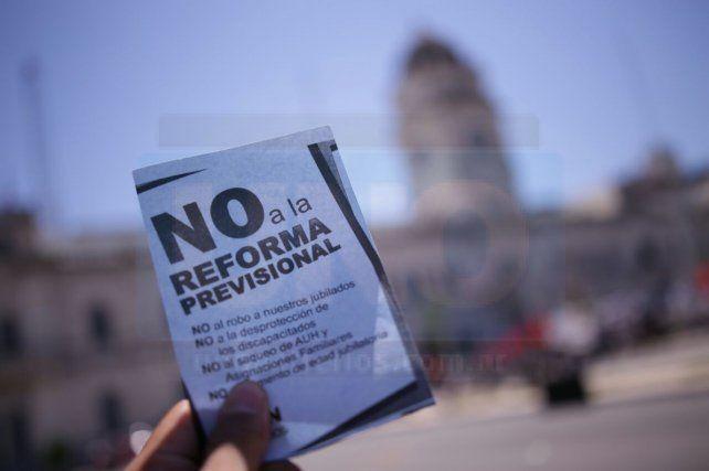 Contra la reforma previsional: A los legisladores los vamos a ir a buscar
