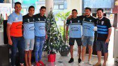 Festejarán navidad con el segundo ascenso consecutivo. El próximo año jugarán en la A del futsal paranaense. Foto UNO Juan Manuel Hernández