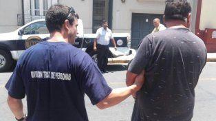 El detenido en Paraná fue trasladado a Santa Fe. Foto UNO.
