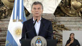 Habló Macri: Lo que pasó ayer estaba orquestado