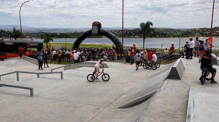 Las primeras imágenes del parque de Villa Carlos Paz.