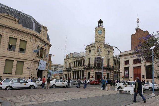 El edificio de la Municipalidad de Paraná en el corazón del centro capitalino. Foto UNO archivo. Diego Arias.
