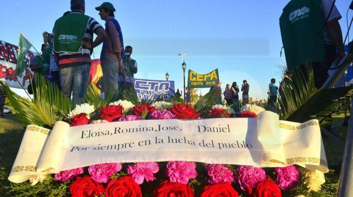 homenaje. En la plaza se recordará a las víctimas de la represión.
