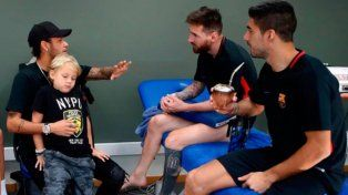 Te sigo extrañando, el mensaje de Messi a Neymar