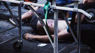 La historia detrás de la foto que la policía no quería que se sacara