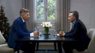 Mauricio Macri: Hay sectores que sueñan que me vaya en helicóptero