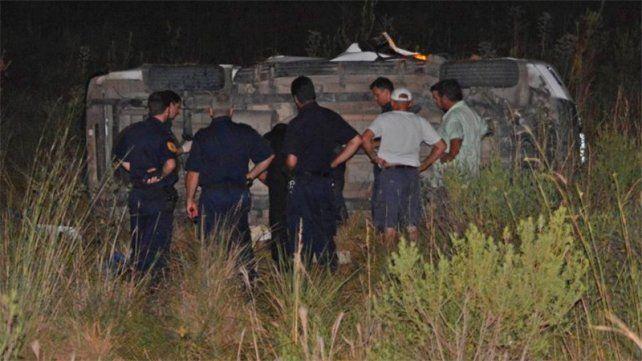 Accidente fatal en Concordia: un auto volcó y el conductor falleció